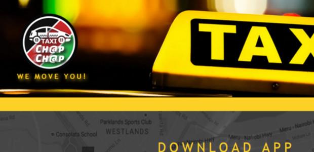 Taxi Chap Chap – La nouvelle appli de taxi à la demande du Kenya