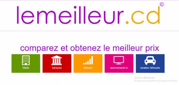 Un nouveau comparateur de prix lancé en RDC - Lemeilleur.cd