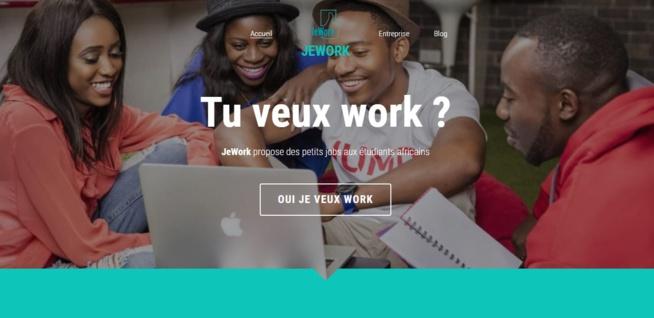"""Jework Africa : Une plateforme de """"télétravail"""" pour les étudiants en Afrique"""