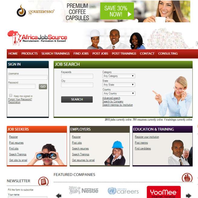 Cameroun : Un nouveau portail pour faciliter l'offre et la recherche d'emploi