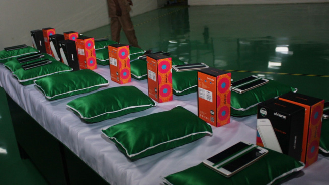 Nigeria : Lancement du premier téléphone made-in-Nigeria