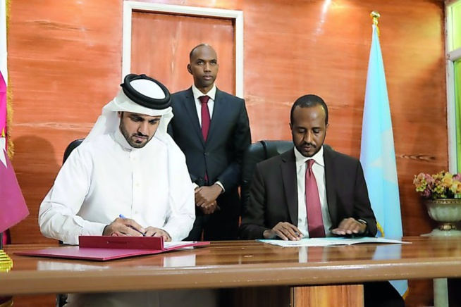 Le Qatar fournit des appareils électroniques à la Somalie