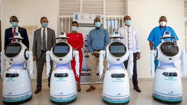 Rwanda: le gouvernement déploie des robots pour lutter contre le COVID-19