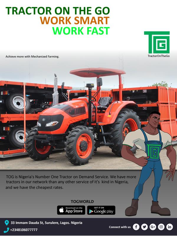 Nigeria: Une entreprise lance une application de location de tracteurs