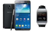 Samsung lance « Galaxy Note 3+Gear » sur le marché congolais