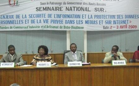 Burkina Faso: séminaire de sensibilisation pour la protection des données