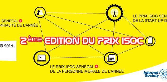 Sénégal: les meilleurs acteurs des TIC's primés pour la deuxième fois par ISOC Sénégal