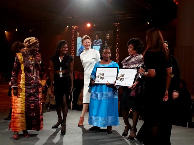 Deux femmes lauréates du Prix Women for Change d'Orange