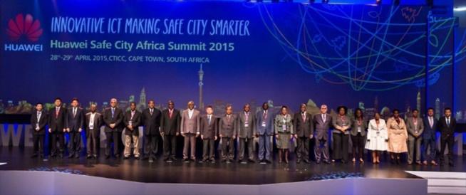 Huawei a tenu son Safe City Africa Summit à Cape Town en Afrique du Sud