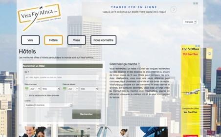VisaFlyAfrica : 1er comparateur de vols francophone pour l'Afrique