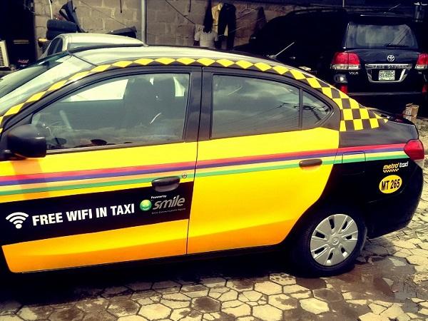 Nigeria : 200 Metrotaxis de Lagos dotés du Wi-Fi