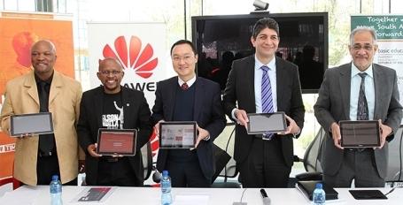 Huawei et Vodacom lancent un programme de « e-Bibliothèques » en Afrique du Sud