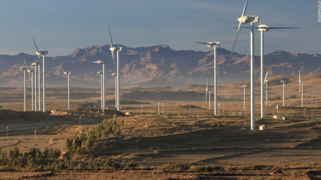 Google va acheter une part dans le plus grand parc éolien de l'Afrique dans le nord du Kenya