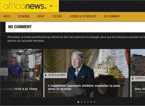 La chaîne d'actu Africanews fait son lancement digital mondial