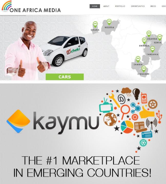 Les deux startups africaines de la semaine : One Africa Media et Kaymu