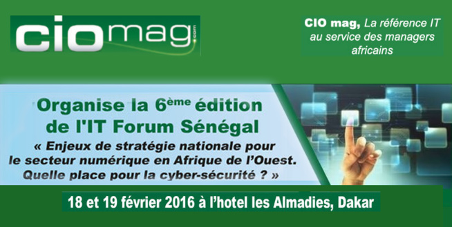 Sénégal: la cybercriminalité au cœur de la 6ème édition de l'IT Forum de Dakar