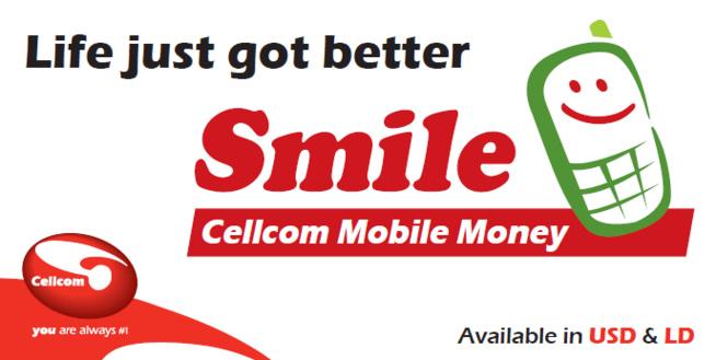 Liberia: Cellcom lance un service de transfert d'argent baptisé Smile Mobile Money