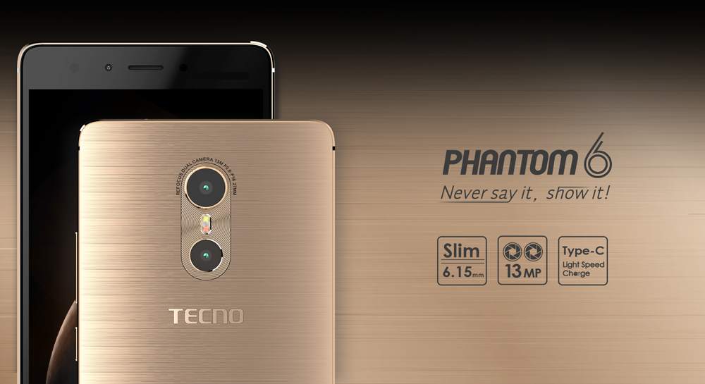 Tecno s'associe avec Safaricom pour lancer le Phantom 6s au Kenya