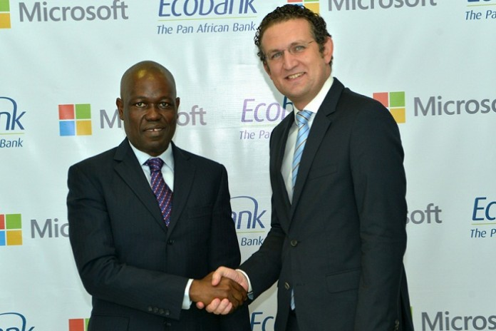 Ecobank et Microsoft s'associent pour booster l'inclusion financière en Afrique