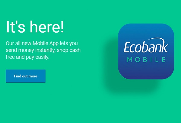 "Ecobank lance son application de mobile banking, baptisée ""Mobile Ecobank"""