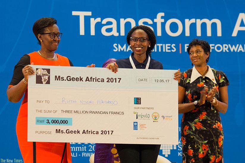Afrique: La kenyanne Waiganjo couronnée Miss Geek Africa 2017