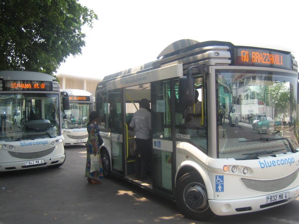 Congo-Brazzaville: Les bus Blue Congo de Bolloré dotés de Wifi gratuit