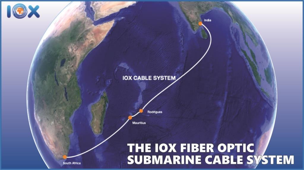Ile Maurice: Un nouveau câble sous-marin pour connecter Maurice, l'Afrique du Sud et l'Inde