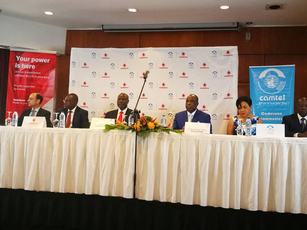 Cameroun: Vodafone Cameroon s'associe à Camtel pour étendre sa 4G/LTE