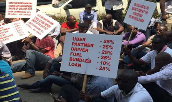 Kenya: Les chauffeurs d'e-taxi en grève pour obtenir une meilleure rémunération