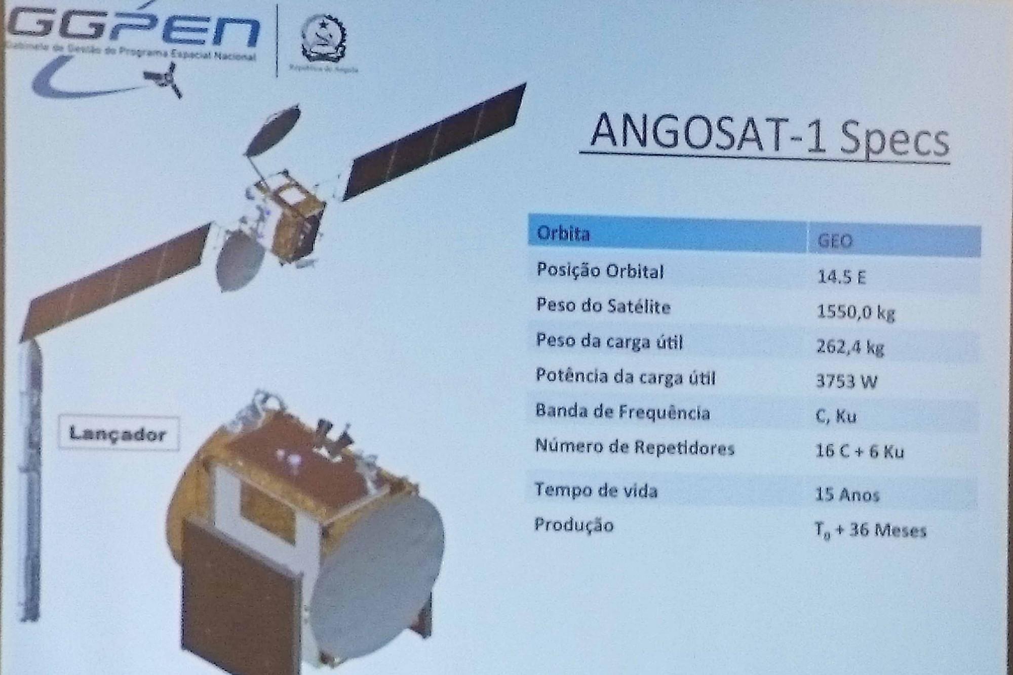 L'Angola va lancer son premier satellite en décembre