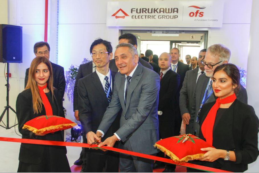 La société japonaise Furukawa ouvre une usine de fibre optique de 22 millions de dollars au Maroc
