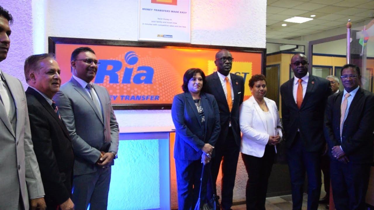 République de Maurice : La poste installe les locaux de RIA Money Transfer