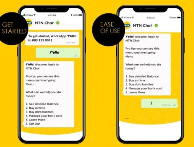 Afrique du Sud : MTN lance son service MTN Chat, basé sur WhatsApp