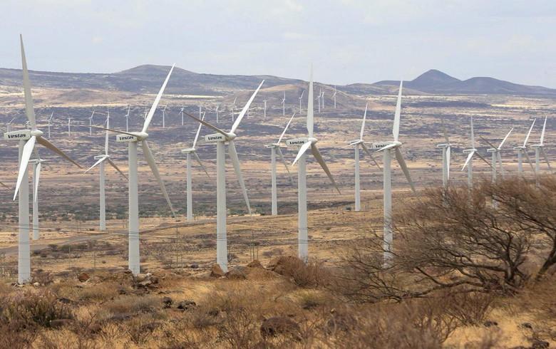 Le Kenya inaugure le plus grand projet éolien d'Afrique à Turkana