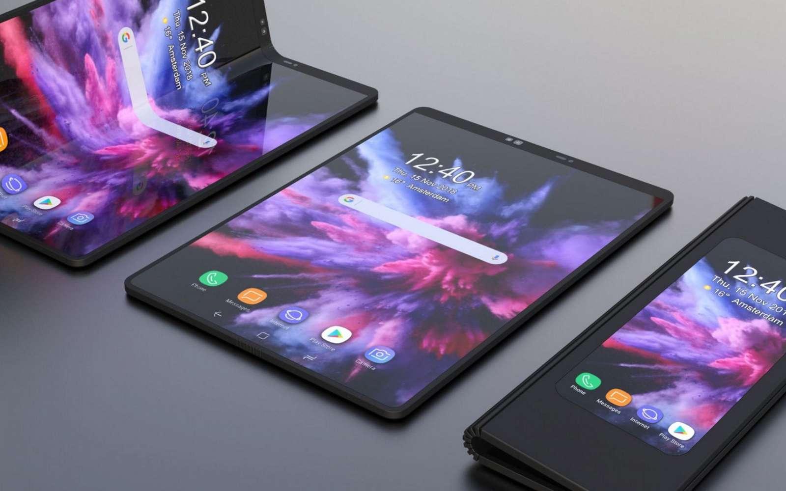 Le Samsung Galaxy Fold se vend très bien au Ghana
