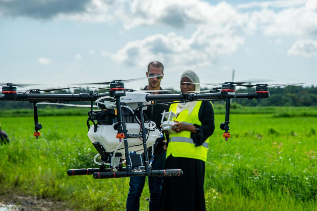 Le Rwanda lance des drones pour éliminer les moustiques porteurs du paludisme