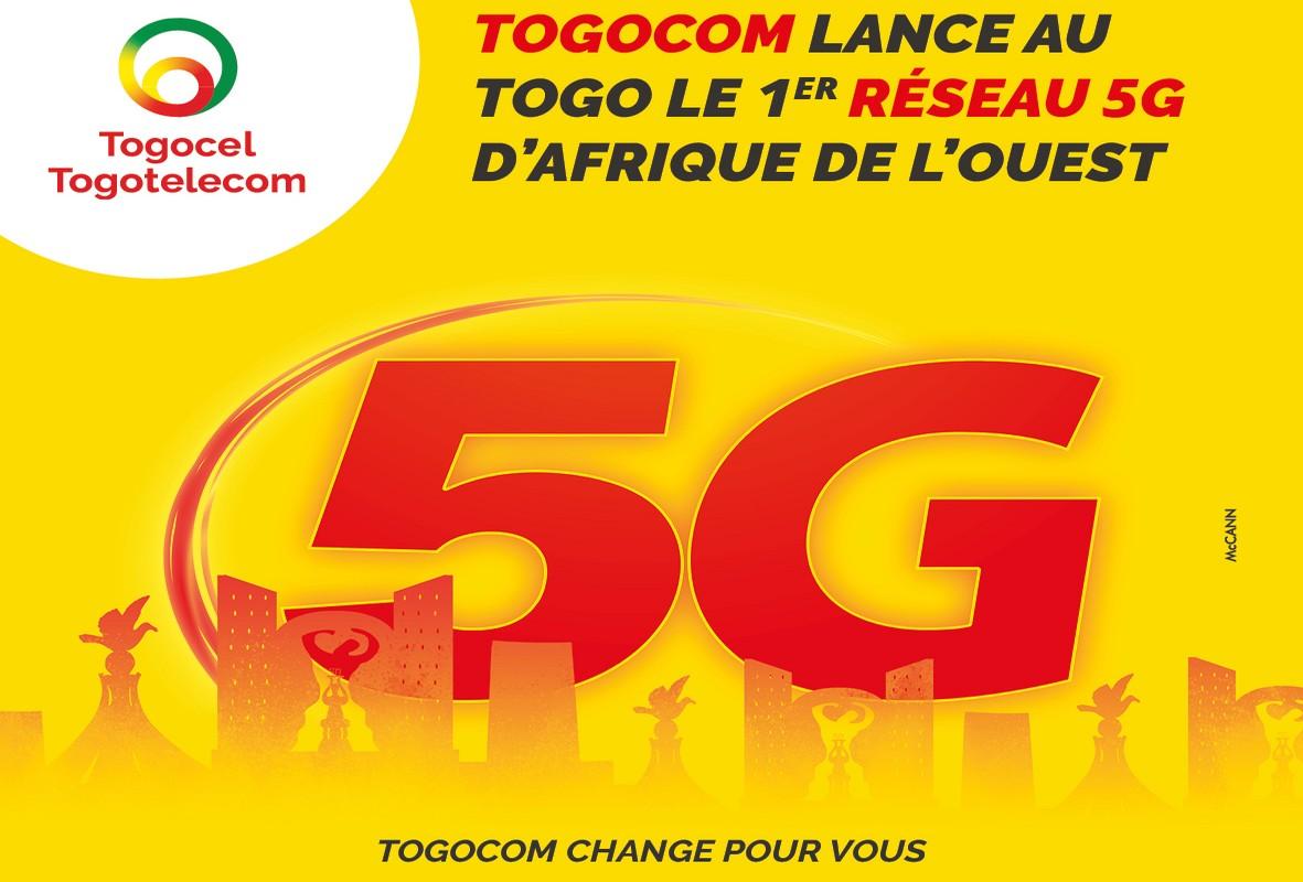 Togocel va démarrer l'essai de la 5G au Togo