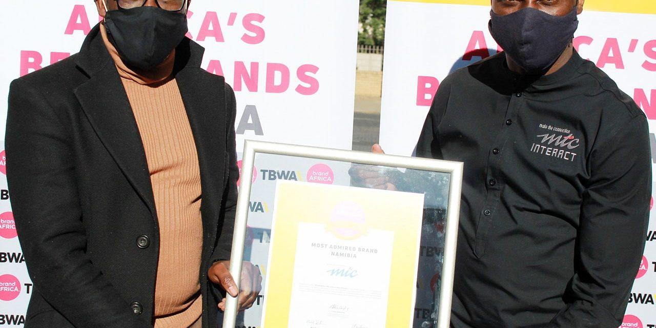 Namibie : MTC une fois de plus « marque la plus appréciée » du pays