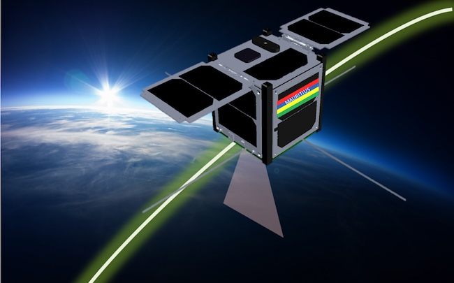 L'Île Maurice célèbre le déploiement de son premier satellite