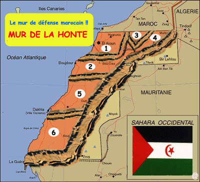 Sahara Occidental: La Campagne internationale contre le mur marocain au Sahara occidental a désormais un site Web
