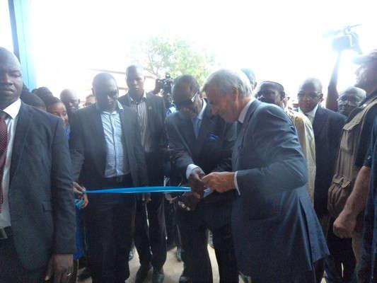 Guinée: la première Blue zone inaugurée par le président Alpha Condé à Conakry
