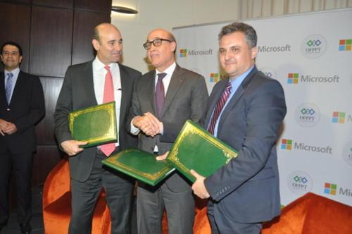 Maroc: Développement des TIC en Afrique - l'OFPPT et Microsoft unissent leur force