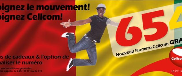 Guinée: Cellcom lance une nouvelle série de numéro commençant par 654