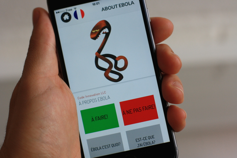 Ebola Tracker : Une appli mobile pour traquer Ebola en Afrique de l'Ouest