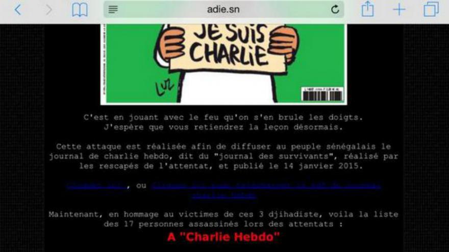Sénégal: Le site internet d'une agence gouvernementale piraté par les Anonymous