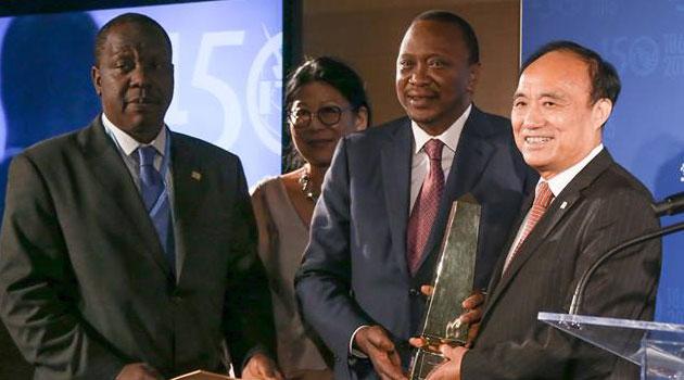 Kenya: Le président Uhuru Kenyatta reçoit un prix des TIC à New York