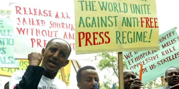 Ethiopie: Quatre blogueurs du collectif Zone9 libérés après un an et demi de prison