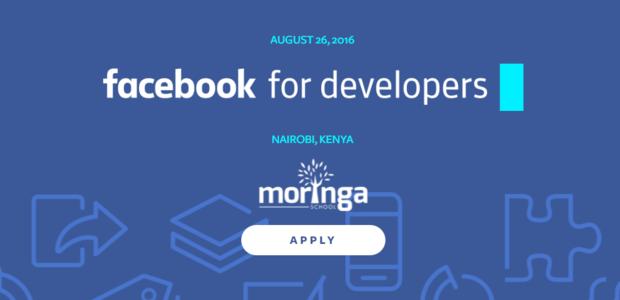 "Facebook va tenir un atelier intitulé ""Facebook for Developers"" au Kenya en août"