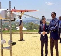 Le Rwanda présente son ambition pour la technologie des drones au WEF 2018