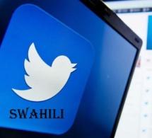Twitter reconnaît enfin le swahili comme langue officielle